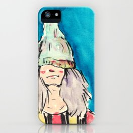 too cool kid iPhone Case
