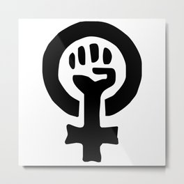 Feminism and Women's Rights, Equality and Diversity Metal Print