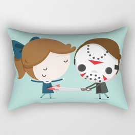 The one (Murders) Rectangular Pillow