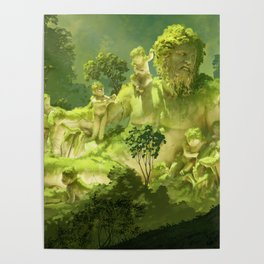 Remain of the ancient river Poster