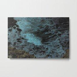 Feel the waves Metal Print