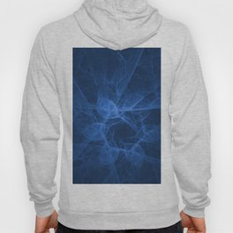 Abstract blue pattern Hoody