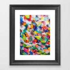 rainforest abstract 1 Framed Art Print