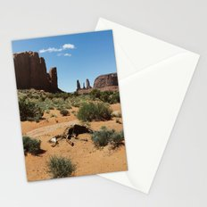 Monument Valley Horse Carcass Stationery Cards