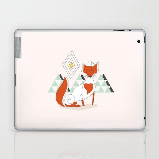 Fox in the mountain Laptop & iPad Skin