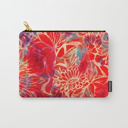 Floral Floral Floral  Carry-All Pouch