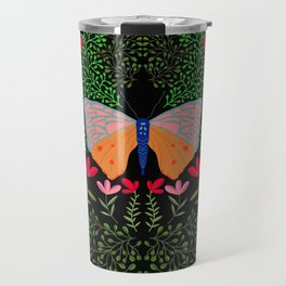 Butterfly in The Garden 01 Travel Mug