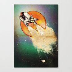 Blast Off Canvas Print