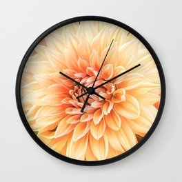 A Dalias Beauty Wall Clock