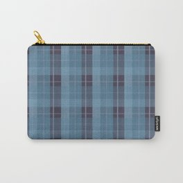 AFE Blue Plaid Pattern II Carry-All Pouch