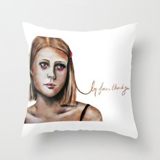 Margot Tenenbaum  Throw Pillow