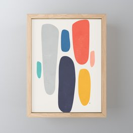 Falling Framed Mini Art Print