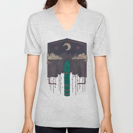 The Lost Obelisk Unisex V-Neck