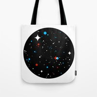 universe Tote Bags featuring Universe by Terry Mack
