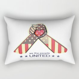 United Hands Rectangular Pillow