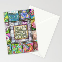 My Patchwork Friendship Squares Stationery Cards