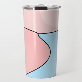Happy Place - Blue Blush Travel Mug