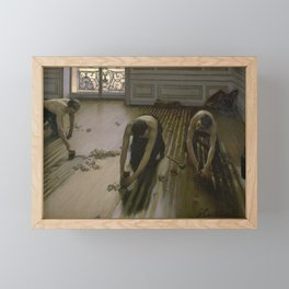 Gustave Caillebotte - The Floor Planers Framed Mini Art Print