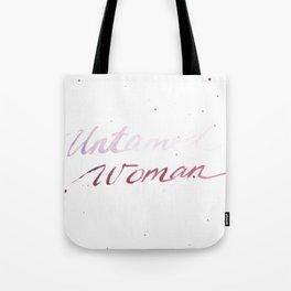 Untamed Woman Tote Bag