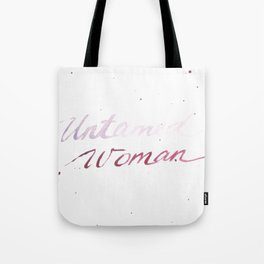 Untamed Woman Tote Bag