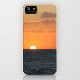 Sunset at Great Barrier Reef iPhone Case