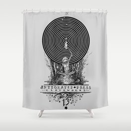 Clockworks Light Shower Curtain