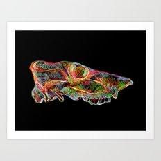 Techniskuller Art Print