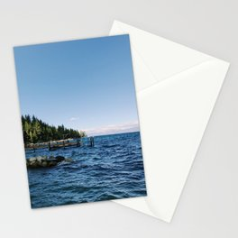 Meeks Bay Vista Stationery Cards