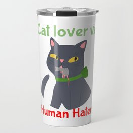 Cats and Kitten Lover Books Cake Coffee Butt Digital Meow in Art Catshirt Travel Mug