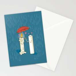 LOVE CANDLES Stationery Cards