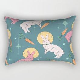 Bun Buns in Space Rectangular Pillow
