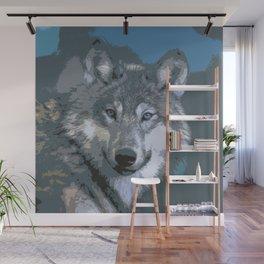 Wolf 032 Wall Mural