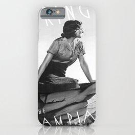 retro monochrome Spring in the Grampians iPhone Case