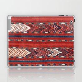 Yomut Flatweave Southwest Turkestan Kilim Print Laptop & iPad Skin