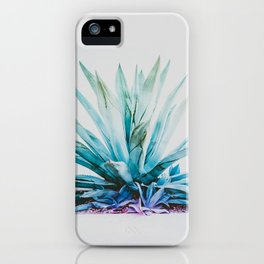 Agave Aura iPhone Case