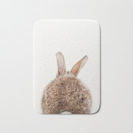 Bunny Tail, Bunny Rabbit, Baby Animals Art Print By Synplus Bath Mat