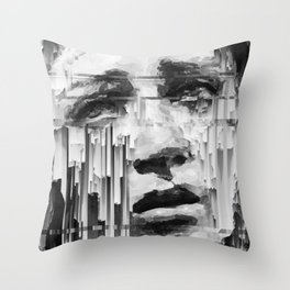 Falling Down by IRRELEVANT VISION™ Throw Pillow