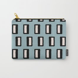 Chad Pattern Blue Carry-All Pouch