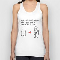 medical Tank Tops featuring Medical Fact by Eat Yr Ghost