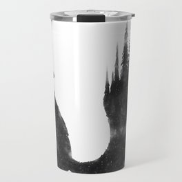 Black Fox Travel Mug