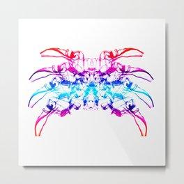 Smoke Spider Crab 2 Metal Print
