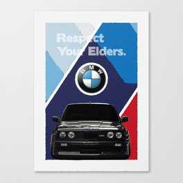 Respect Your Elders - 3 Canvas Print