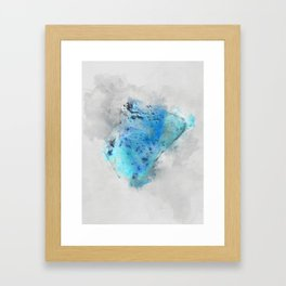 Larimar Framed Art Print