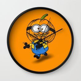 Hallowinion Wall Clock
