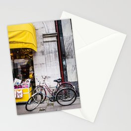 Bikes and shop Stationery Cards