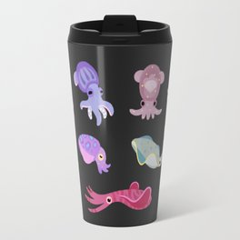 Squids - black Travel Mug