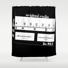 CKUA Shower Curtain