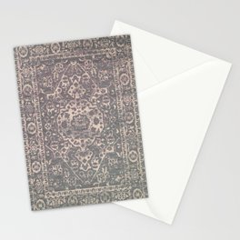 Antique Persian Grey Rug Stationery Cards