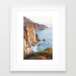 Golden Coast Framed Art Print