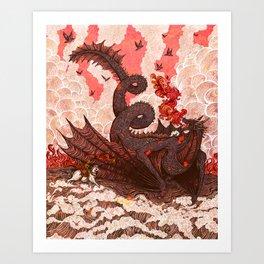 Dragonslayer II Art Print